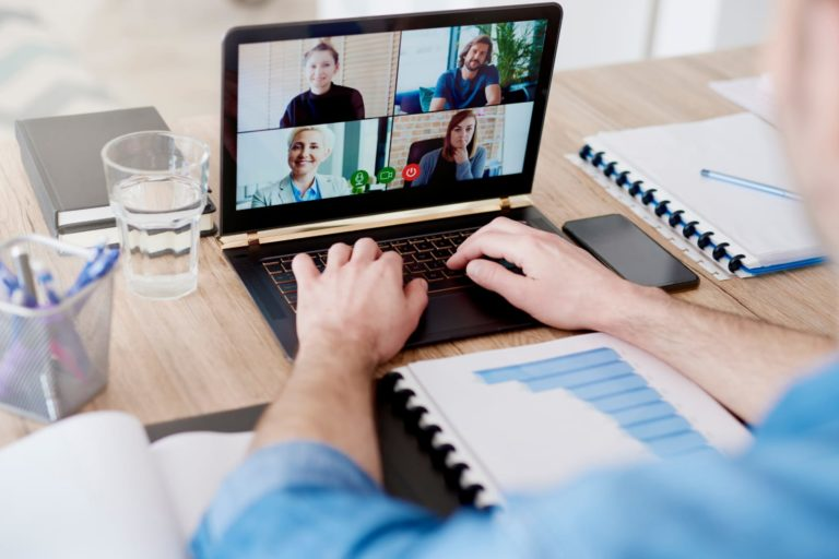 a group video conferencing
